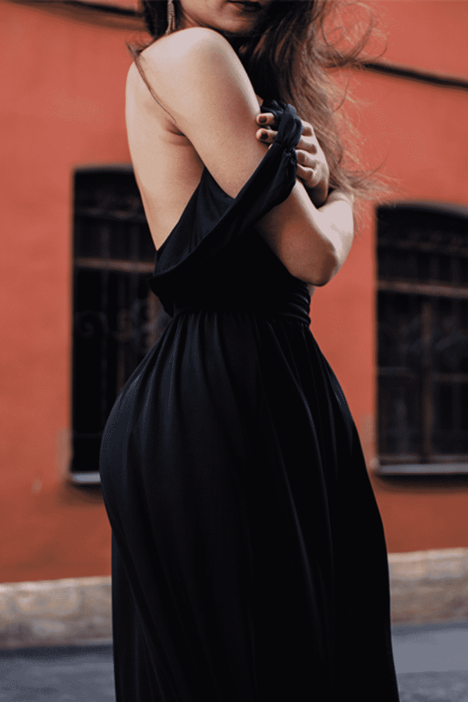 Women's Long Sleeve Off Dress